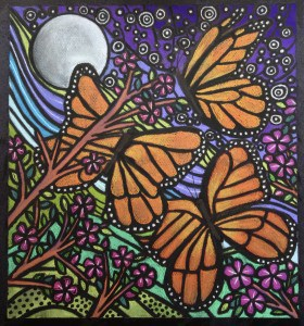 Original Butterfly Art by Laura Walker Scott