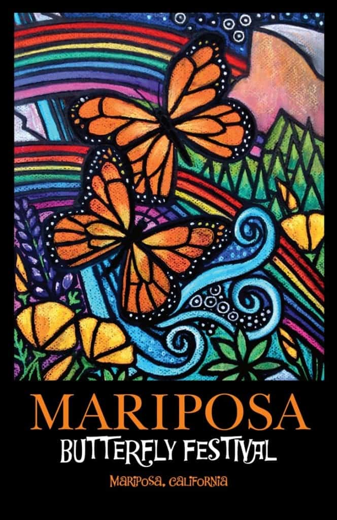 Mariposa Butterfly Festival Poster